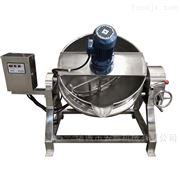 400L火锅底料带搅拌夹层锅