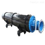 大型现场排水用矿车式潜水泵