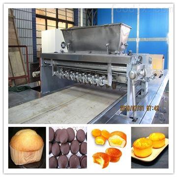 QH2000全自动蛋糕生产线