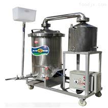 家用酿酒设备 小型双层锅蒸汽蒸酒机