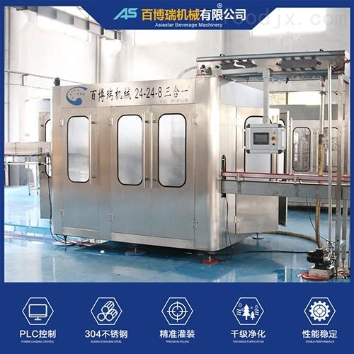 小瓶水灌装生产线RFC24-24-8灌装机