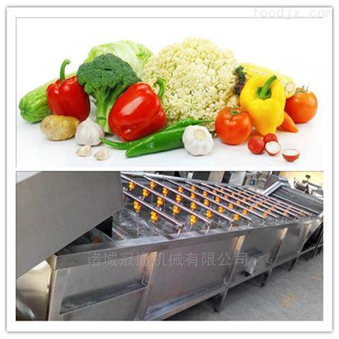 醬菜清洗整套設備 果蔬清洗機流水線