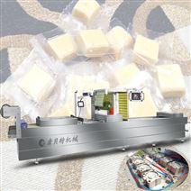 全自動連續拉伸馬蘇里拉奶酪真空包裝機