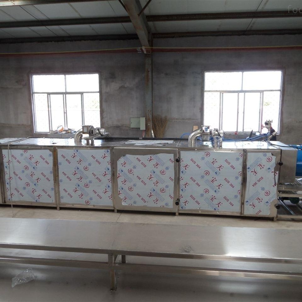 小型多层网带带式干燥机烘干流水线