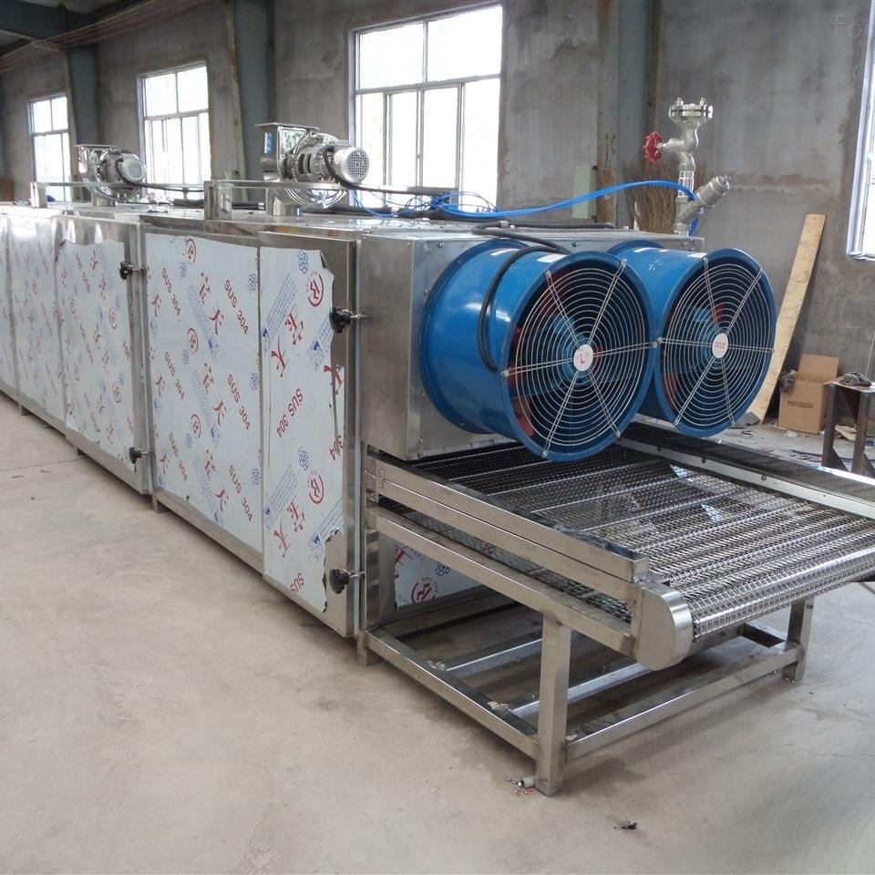 不锈钢大型荞麦烘干流水线设备