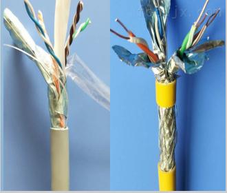 CAT5E32-4*2*0.5钢丝铠装数据电缆