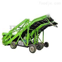 养殖草料堆自动切碎扒草机 饲料铲草机