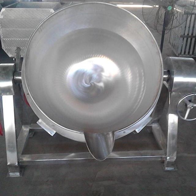 大型电汽两用夹层锅
