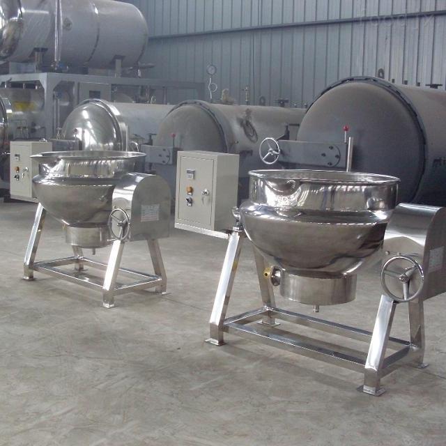 商用热夹层锅