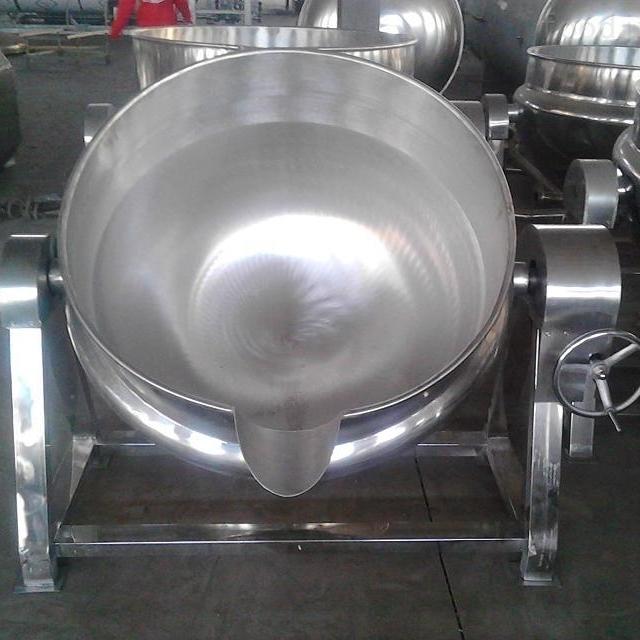 小型商用自动夹层锅