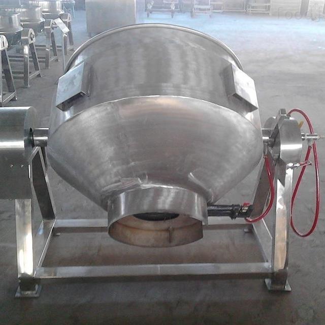 大型商用球形夹层锅
