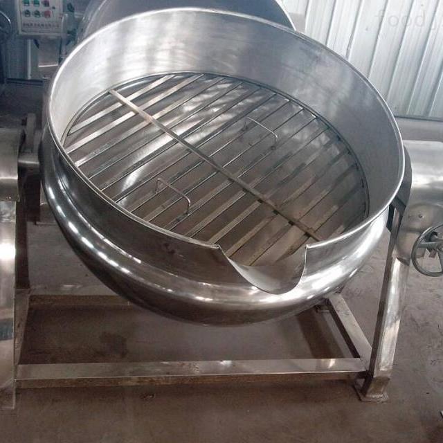 大型高效倾式夹层锅