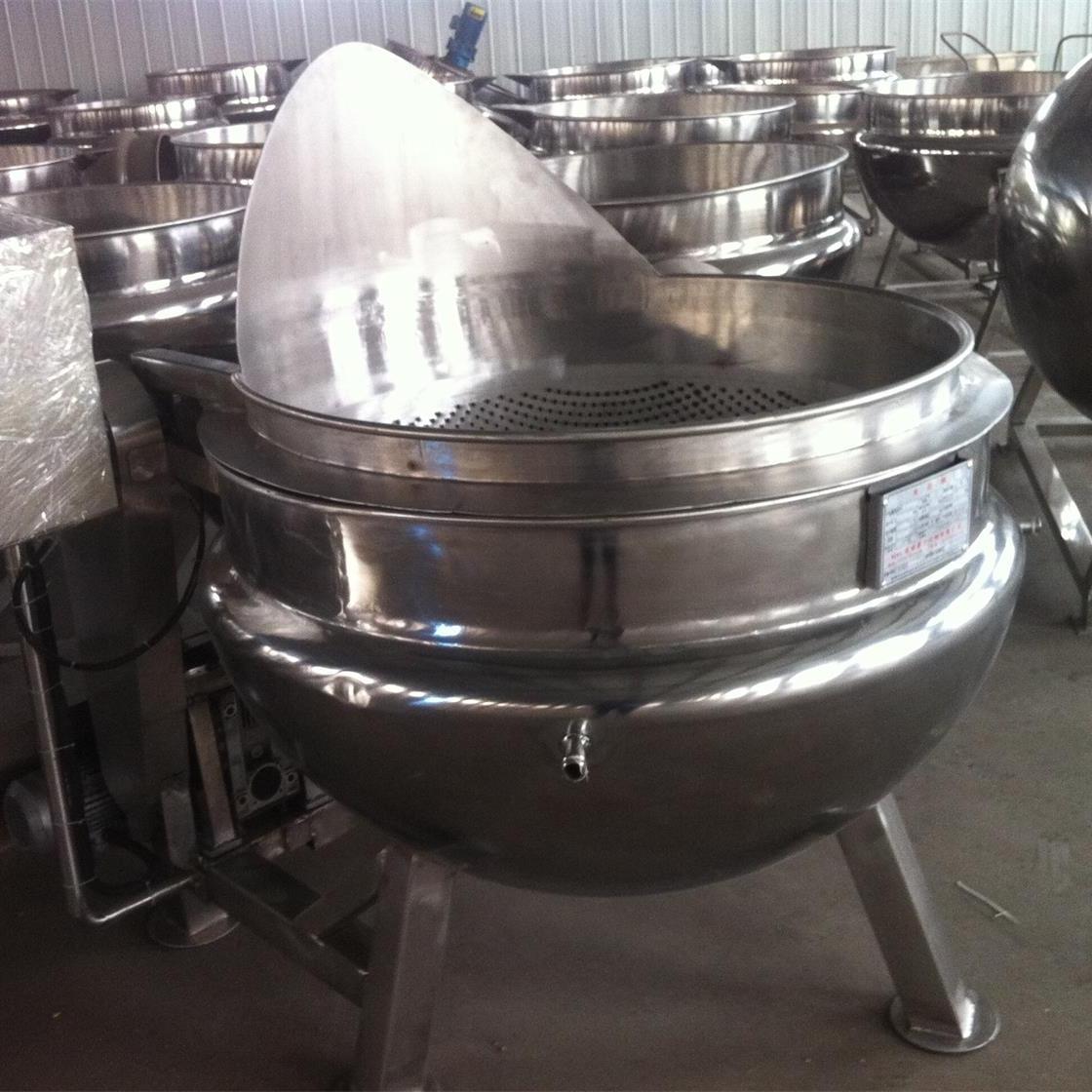 商用高效真空型夹层锅
