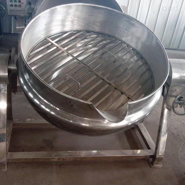 大型全自动倾式夹层锅