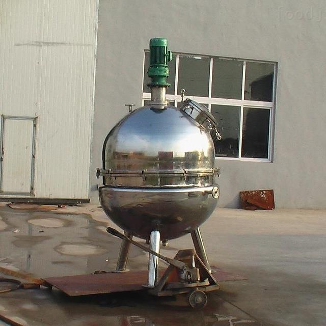 大型安全固定立式夹层锅