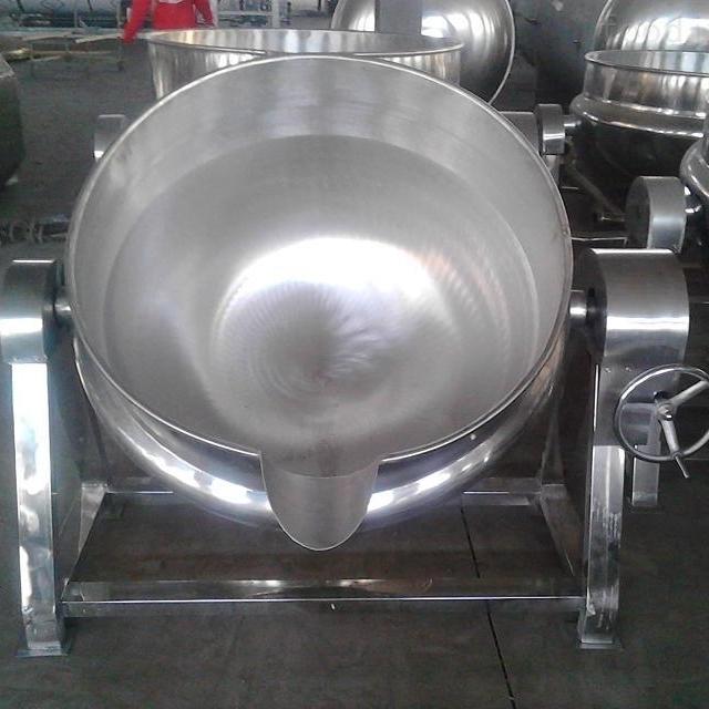 小型小功率高效烧电的夹层锅