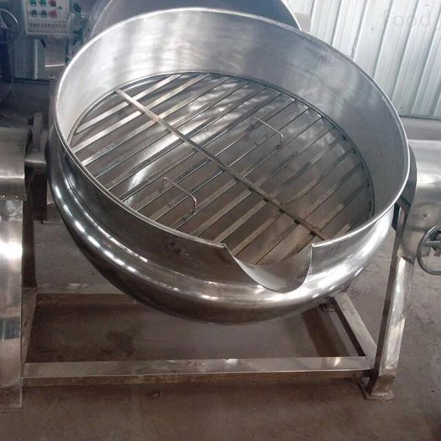商用大型安全可卸式夹层锅
