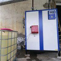立浦热能300kg燃油蒸汽发生器用于烘干棉花