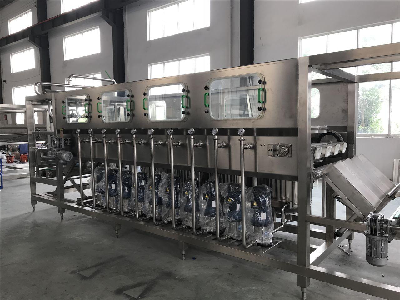 桶装水生产线说明