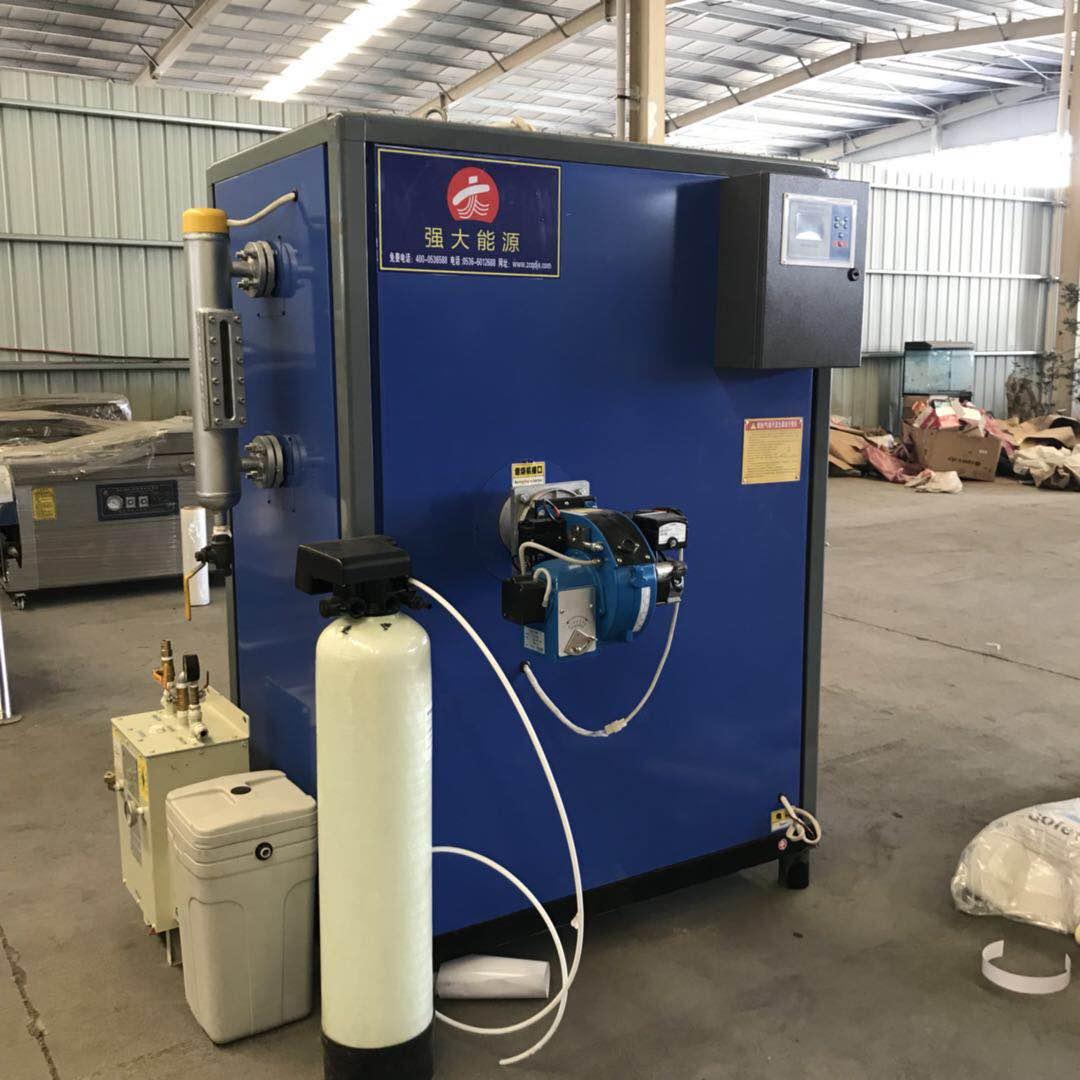 客户定做的燃气加热蒸汽发生器做好准备发货了