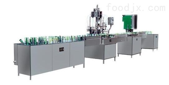 易拉罐不含气饮料生产线